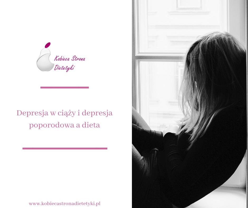 dieta-depresja-w-ciazy-depresja-poporodowa