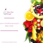 Owoce w insulinooporności – fakty i mity